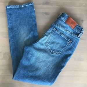 Madewell Kick Out Crop Jeans 26